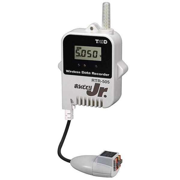 電圧ロガー RTR-505-VL おんどとり Jr.Wireless データロガー USB Eメール送信 FTP送信 47×46.5×62mm