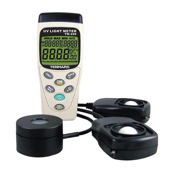 紫外線・日射量・照度計TM-208 55×130×38mm