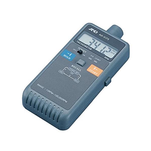 非接触式デジタル回転計 AD-5172 回転軸 回転速度 非接触反射光方式 96×192×38mm