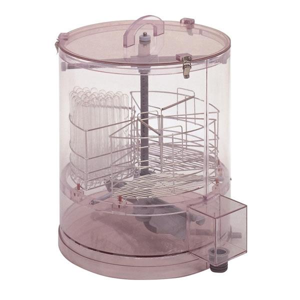 試験管洗浄器 SS 試験管16mmφ×150本用 大きさ400φ×450mm