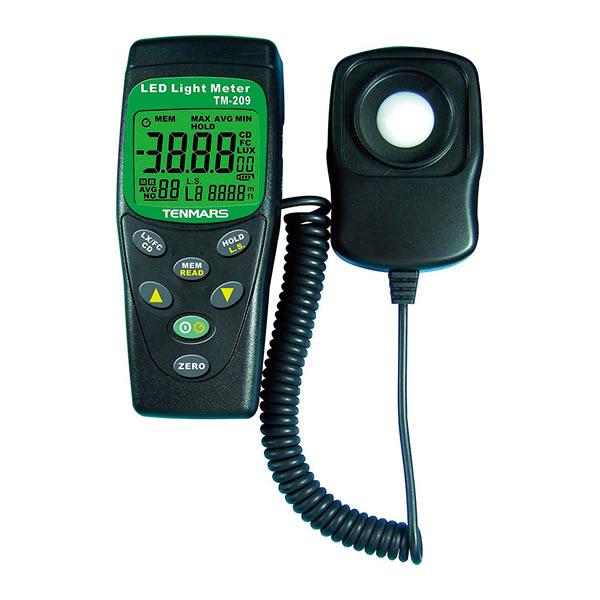 LEDライトメーター TM209M カラーLED対応