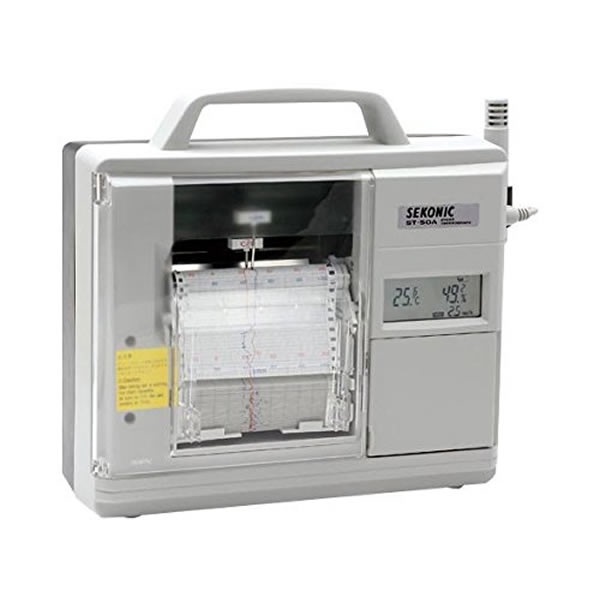 電子式温湿度記録計 ST-50A