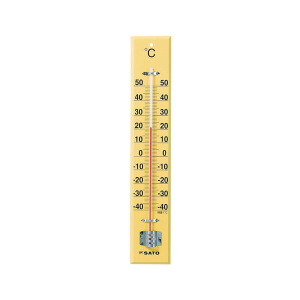 室内用温度計 D-45 45cm 【×2セット】