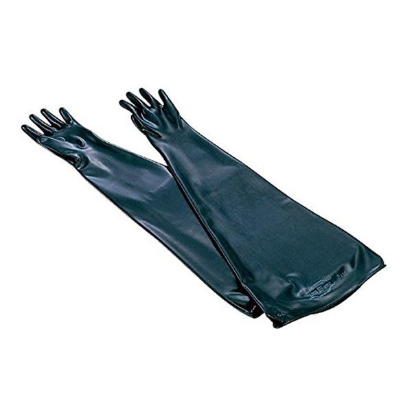 グローブボックス用ネオプレン手袋 0.4mm(1組)