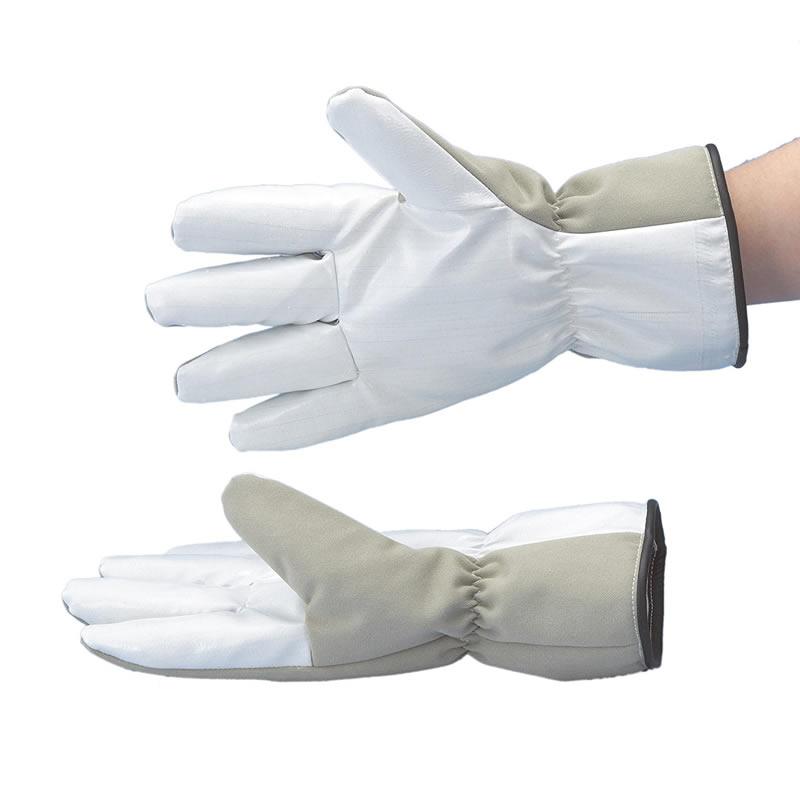 超低温用手袋1双 CGF-18 手の平滑り止め付