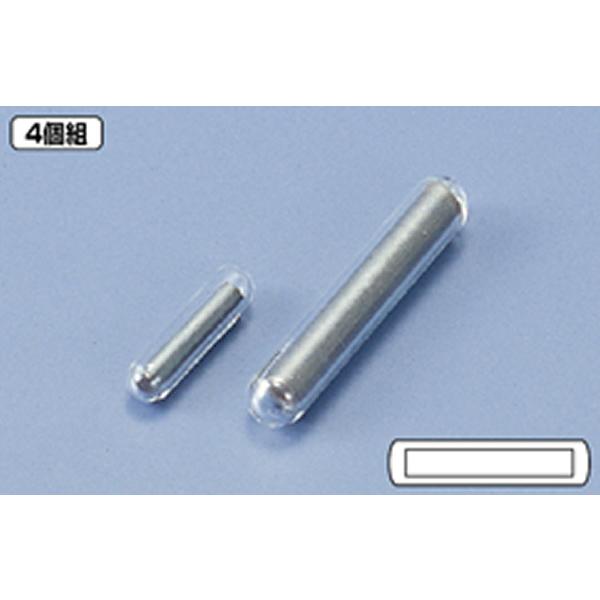 摩耗がなく高温使用に最適なガラス製攪拌子 ガラス撹拌子 25mm 4個入 新作通販 CM1225 直送商品