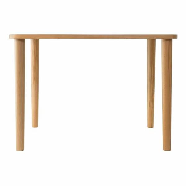 無限工房 テーブル ハイタイプ(ナチュラル・ダークブラウン)