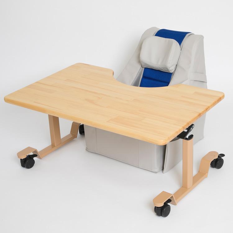 SEEDS クッションチェア用高さ調整テーブル「パステル」