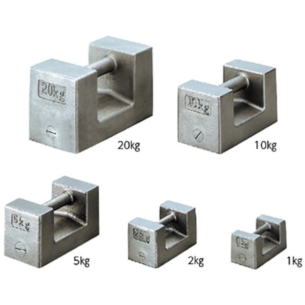 非磁性 ステンレス製 まくら型分銅品 M1級 5kg