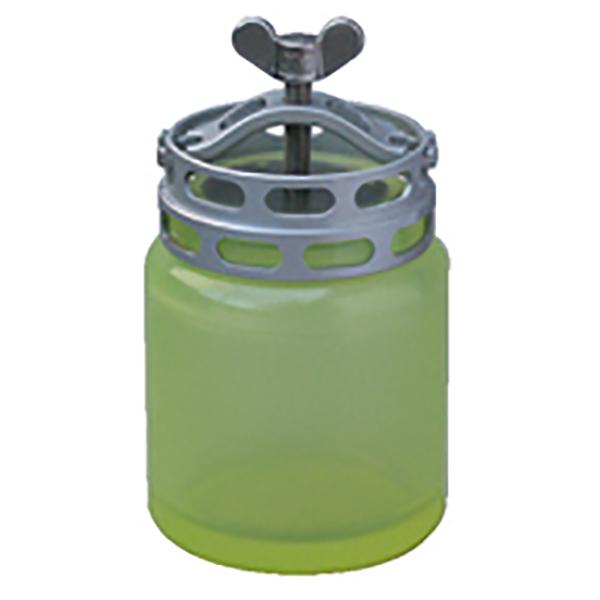 蝶ネジ締付け冶具式 粉砕容器 UP-1 ウレタン