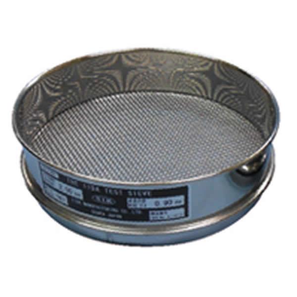 枠部と金網が一体 飛散物が混入しにくい 試験用ふるい 日本限定 枠真鍮 200φ×45mm 新作送料無料 網目1.18mm 網ステンレス 実用新案型