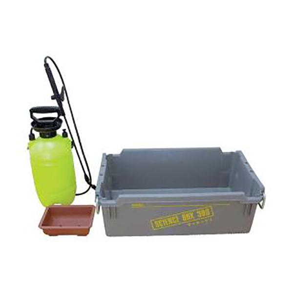 箱庭 実験器 雨水の行方