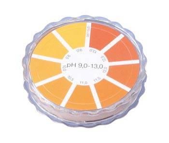 pH9.0~13.0 ナーゲル リール式 pH試験 NAGEL 激安通販 売り込み