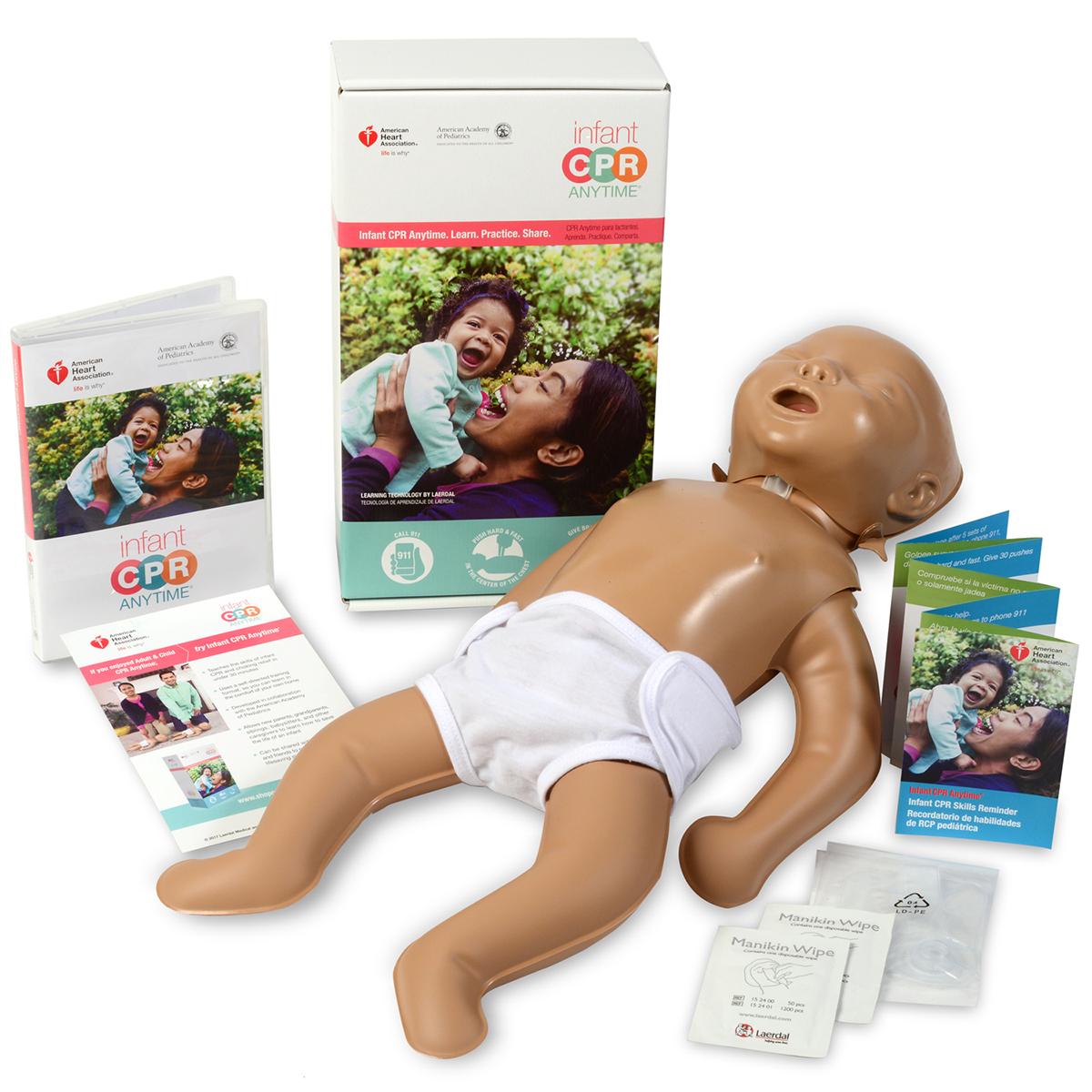 レールダル ミニベビー 乳児 CPR 学習キット Laerdal 心肺蘇生訓練用人形