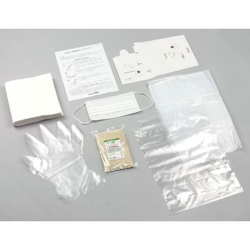 吐瀉物 汚物処理セット 使いきりタイプ 10個組 ノロウイルス感染予防にも