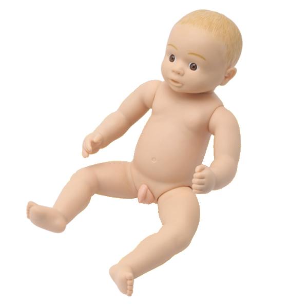 沐浴人形 ヒカリ 育児体験指導教材 男児・女児共用