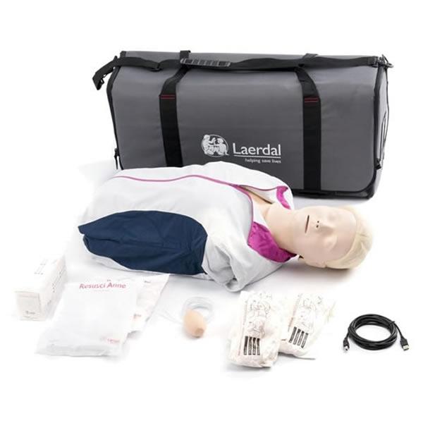 レールダル レサシアン with QCPR 半身 CPRトレーニング 測定 評価 171-00150 laerdal