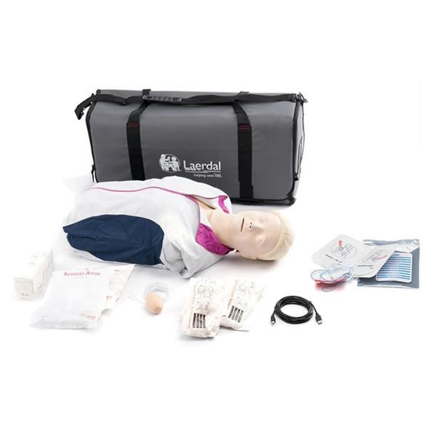 レールダル AED レサシアン with QCPR 半身 CPRトレーニング トレーナ2 トレーナ3 173-00150 laerdal