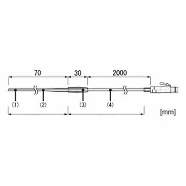 ステンレス保護管センサTR-5320