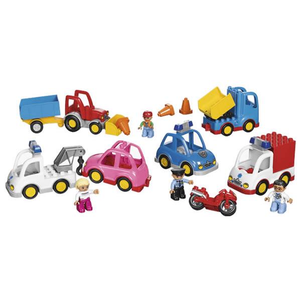 LEGO レゴ duplo デュプロ わくわくじどうしゃセット 45006 乗り物 自動車 V95-5288
