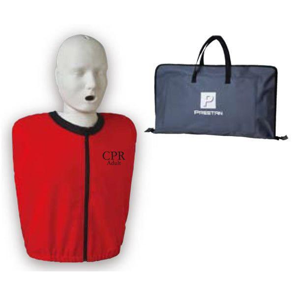 プレスタン CPR AEDマネキン 成人 Adult オリジナルウェア付き PRESTAN 心肺蘇生訓練用人形