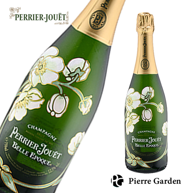 ペリエジュエ ベルエポック 箱なし 750ml Perrier Jouet Belle Epoque 2012 発泡酒 辛口 白 スパークリングワイン シャンパン シャンパーニュ シャンペン 洋酒 母の日 父の日 ギフト プレゼント 内祝い 結婚祝い 誕生日 新築祝い PierreGarden