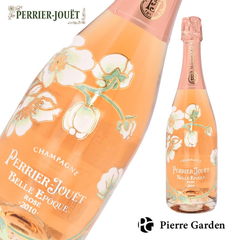 ペリエ ジュエ ベル エポック ロゼ シャンパン750ml Perrier Jouet Belle Epoque スパークリングワイン 発泡酒 シャンパーニュ 洋酒 ギフト 母の日 父の日 プレゼント 内祝い 結婚祝い 誕生日 新築祝い PierreGarden 箱なし