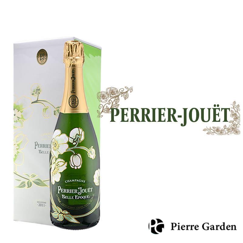 ペリエ ジュエ ベル エポック シャンパン Perrier Jouet Belle Epoque 2011 750ml 辛口 箱 ギフトボックス 付き 発泡酒 シャンパン シャンパーニュ 洋酒 母の日 父の日 ギフト プレゼント 内祝い 結婚祝い 誕生日 新築祝い PierreGarden