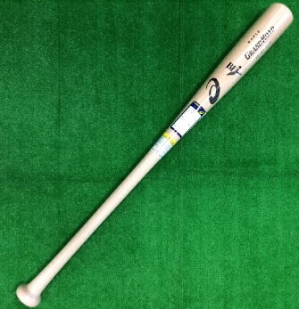 【Asics=アシックス】野球硬式用木製バット(メイプル)<GRAND ROAD=グランドロード/BFJマーク付き/プロモデル><S84>84cm(850-920g平均)/<S85>85cm(850-920g平均)>(ナチュラル)