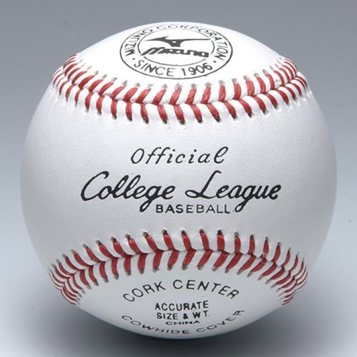【MIZUNO】野球 硬式用 ボール 試合用/カレッジリーグ 高校試合球※1doz.(12個)単位販売※