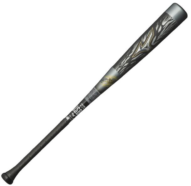 【Mizuno~ミズノ】野球一般軟式用バットBEYONDMAX GIGA KINGビヨンドマックス ギガキングフレア(FRP製)[84cm/平均730g]<トップバランス/シルバー×ブラック/Φ69mm>