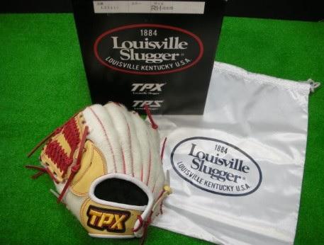 【Louisville Slugger®~ルイスビル・スラッガー®】野球一般軟式用グラブ<JC フォースファーグラブ/ホワイト>[左投げ用/ホワイト]