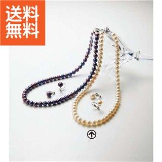 【送料無料】|淡水真珠ネックレスセット|〈BFN-1856SET(WH)〉【60s】(bo) 内祝い お返し プレゼント 自家消費