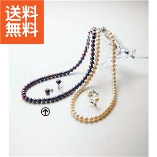 【送料無料】|淡水真珠ネックレスセット|〈BFN-1856SET(PE)〉【60s】(bo) 内祝い お返し プレゼント 自家消費