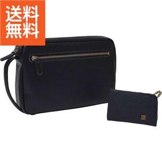 【送料無料】|日本製 牛革セカンドバッグ・カードケースセット|〈B300-222〉【60s】(ae) 内祝い お返し プレゼント 贈り物 プレゼント 入学 入園 内祝い ランキング