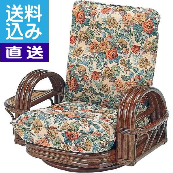 【生活応援セール】【直送/送料無料】籐リクライニング回転座椅子〈H28S697〉 内祝い お返し プレゼント 自家消費【直送】 入学 入園 内祝い ランキング(bo)