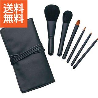 【生活応援セール】【送料無料】|熊野化粧筆セット 筆の心 ブラシ専用ケース付き|〈KFiーK206〉【60s】(bo) 内祝い お返し プレゼント 自家消費