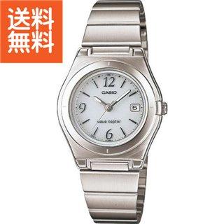 【送料無料】カシオ ソーラー電波レディース腕時計(ホワイト)〈LWQ-10DJ-7A1JF〉(do) 内祝い お返し プレゼント 自家消費【60s】