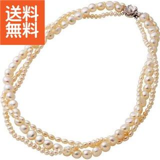 【生活応援セール】【送料無料】|淡水真珠 ネックレス|〈1711KC036〉【60s】(bo) 内祝い お返し プレゼント 自家消費
