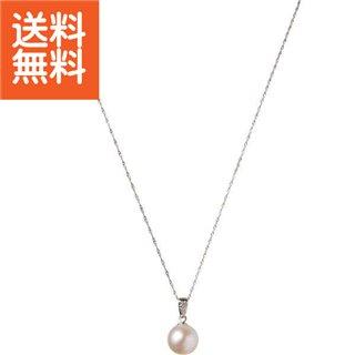 【送料無料】|プラチナ本真珠ペンダント(ダイヤモンド)|〈S‐8067〉【パケット便可】(bo) 母の日・父の日 プレゼント