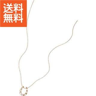 【送料無料】 ホースシュー ダイヤモンドペンダント 〈3324〉【パケット便可】(bo) 母の日・父の日 プレゼント