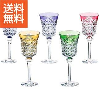 【送料無料】 KAGAMI 江戸切子 ワイングラス5客セット 〈KS3602-2835-5〉【100s】(ao) 内祝い お返し プレゼント 贈り物 プレゼント 成人式 成人内祝い 成人祝い ランキング