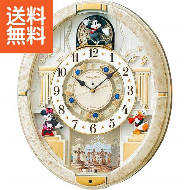 【送料無料】ディズニー タイム からくり電波掛時計 〈FW580W〉(ao)【140s】出産内祝い 内祝い お返し 快気祝い 新築内祝い 引き出物 法事 香典返し ギフトセット ランキング