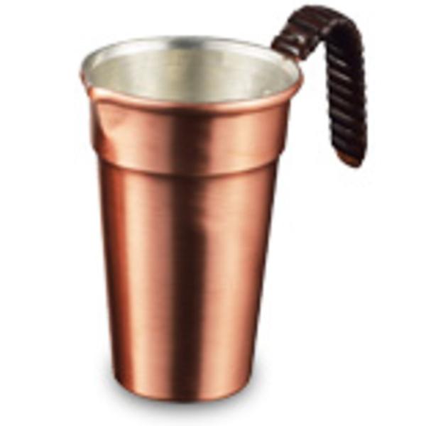 【送料無料】伝統工芸 槌起 金属加工籐巻酒タンポ 1合用〈gt-20〉鍋類 記念品 お祝い 御礼 叙勲祝い 叙勲記念 高額記念品