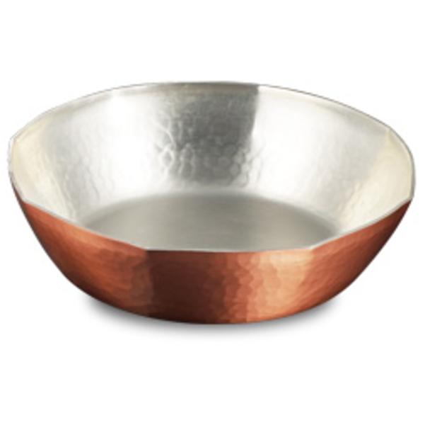 【送料無料】|伝統工芸 槌起 金属加工ガス用 銅すき焼き鍋 8角22|〈nb-16〉鍋類 記念品 お祝い 御礼 叙勲祝い 叙勲記念 高額記念品