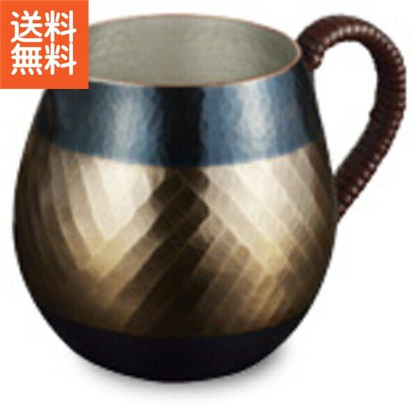 【送料無料】伝統工芸 槌起 金属加工ティーポット 帯織〈wk-12〉茶器 記念品 お祝い 御礼 叙勲祝い 叙勲記念 高額記念品