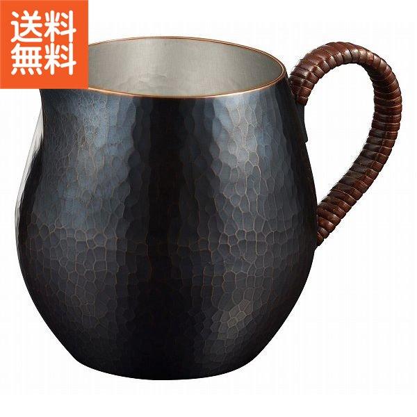 【送料無料】伝統工芸 槌起 金属加工ティーポット 鎚目ブロンズ〈wk-4〉茶器 記念品 お祝い 御礼 叙勲祝い 叙勲記念 高額記念品