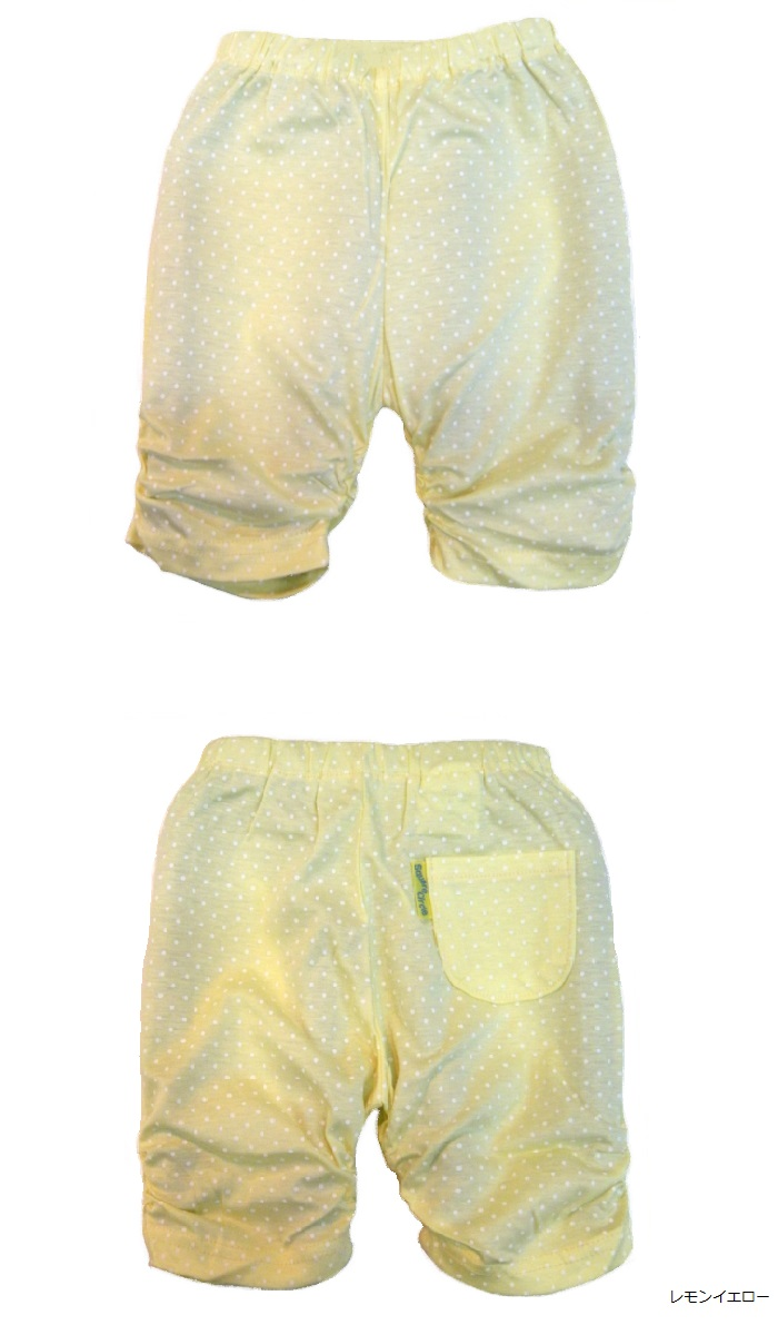 ■ 第五梳的春夏季的裤子 (日本制造) 80/90 厘米/95 厘米 ■ 婴儿裤 / 底 / 女孩 / 男孩 / 紧身裤 / 猴子裤子 / 短底 / roosemonkeypants、 聚集、 网点、 波尔卡点和红色右网和褶边和婴儿