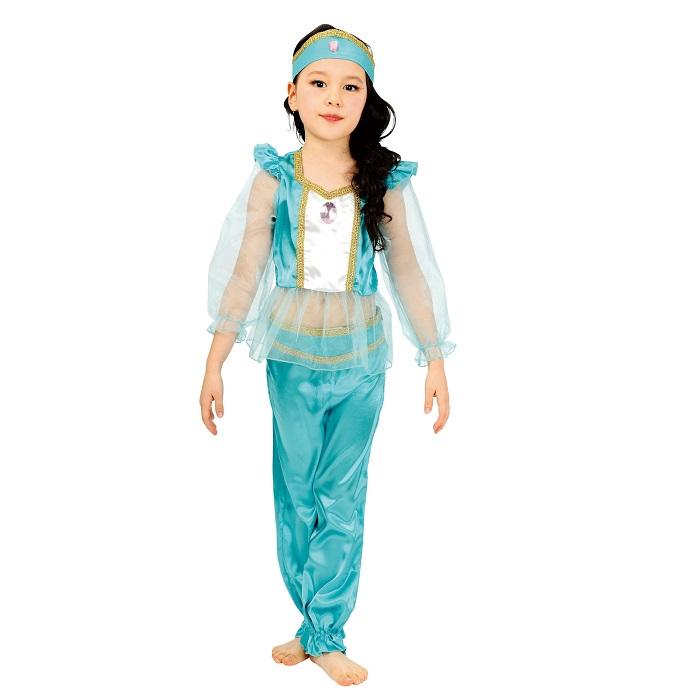 arabian princess jasmine aladdin 100 cm120 cm 140 cm costume