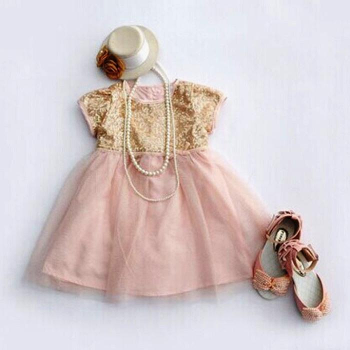 Suzuya Rakuten Ichiba Baby Dresses Span Call Glitter Dress Pink